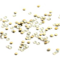 [macyskorea] So Beauty Nail Art 3D 100pcs Gold Pyramid Spike Studs 4mm*4mm for Nails/Cell /12928071