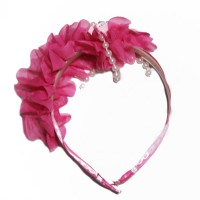 Bando Pink Floral with Pearl