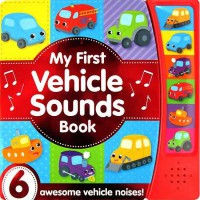 [HelloPandaBooks] My First Vehicle Sounds Book with 6 awesome vehicle noises!