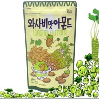 Wasabi Flavored Almonds 210g (Not Spicy) (SPECIAL GIFT FREE MOKADO LOTTERIA)
