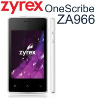 Smarphone Zyrex OneScribe ZA966 | OS Android 2.3 Gingerbread | RAM 256MB, Storage 512MB