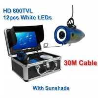 Underwater fishing video camera & fish finder (with SUN-VISOR)