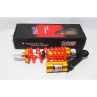 Shock Tabung Matic Gold Red