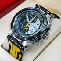 Jam Tangan Tissot T-Race Moto Gp Rubber Black Yellow For man Limited