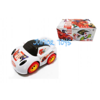 Mainan Mobil Baterai Big Hero Car 3D Lights and Sounds