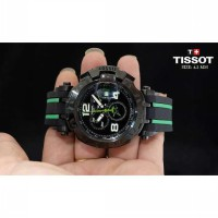 Tissot T-Race Star Green Black Rubber gf