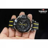Tissot T-Race 2016 Silver Combi Yellow Rubberq