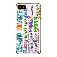 [holiczone] Color.Dream Be Who You Are Dr Seuss Quote Hard Plastic Back Case Cover Phone P/205380