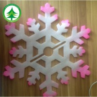 [globalbuy] 2016 Hot 6 pcs/set Christmas tree decoration, snowflake ornaments, new year de/3177435