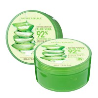 [1+1] [Nature Republic] 300ml Aloe Vera 92% Soothing Moisture Gel