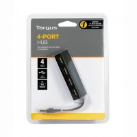 Targus 4 Port Usb Hub With Cable Management - ACH114AP Real Power for Heavy Duty