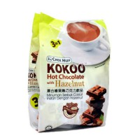Chek Hup 3in1 Kokoo Hot Chocolate with Hazelnut Minuman Coklat 15 sachet Import Malaysia