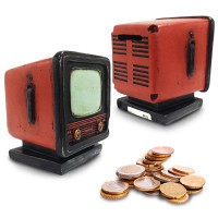 Atria Vintage TV Money Bank [ Celengan ]