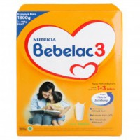 BEBELAC 3 1800 Gr madu / vanila ( pack of 2)
