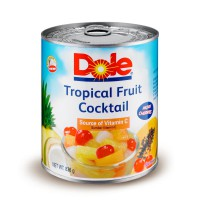 Dole Tropical Fruit Cocktail in Heavy Syrup 836 gr