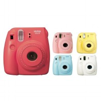 Fujifilm Instax Polaroid Camera Mini 8S - 1 MP - 1x Optical Zoom - Grape