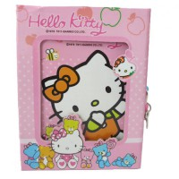 Buku Diary Hello Kitty Orange