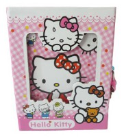 Buku Diary Hello Kitty Merah