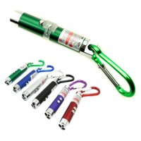 3 in 1 UV Laser Pointer Beam with Keychains - C-03