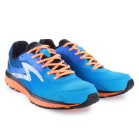 Specs Sepatu Lari Running ROAD KING - C BLUE/DAZZLING BLUE/S ORANGE/BLACK 200438