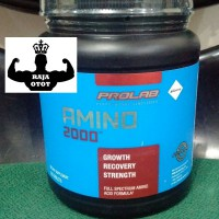 AMINO 2000 PROLAB 325 Tablets / PRO LAB Suplemen Fitnes / Supplement Fitness