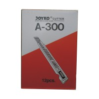JOYKO - 12 Pcs Cutter A-300 Kecil Per Box / Lusin