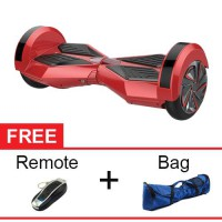Cognos Hoverboard Segway 8' Two Wheel Balance Wheel Smart Scooter Self Balancing Electric - Red