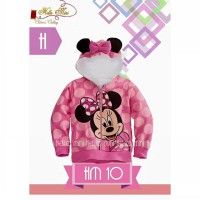 Jacket Hello Mini 10 Code H - Minnie Mouse