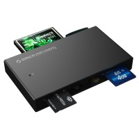 Orico 7566C3 Aluminium Card Reader USB 3.0 all in one with USB 3.0 Cable