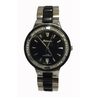 Tetonis - Jam Tangan Fashion Wanita - T9625M SP - Silver Black