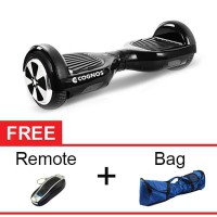 Cognos Onix Hoverboard Segway 6,5' Two Wheel Balance Wheel Smart Scooter Balancing Electric - Black