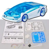 Mainan Edukasi Anak Mobil-Mobilan Air Asin Green Energy Educational Salt Water Fuel Power Car Toys
