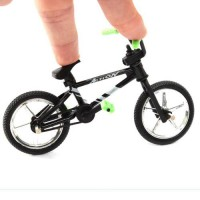 [globalbuy] 11.2 * 7cm Excellent Fuctional Finger Mountain Bike BMX Fixie Bicycle Boy Toy /3562133
