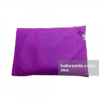 Olus Pillow Bantal Kulit Kacang Hijau - Dark Purple