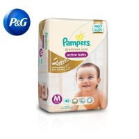 P&G Pampers Popok Premium Care Taped M 40