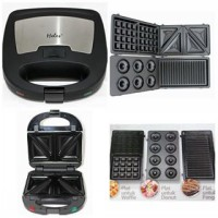 Heles Toaster 4in1 HSM-029-4P (donut, wafle, grill, sandwich)