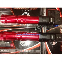 Tabung Shock Ride It Vixion-New Vixion and R15 red