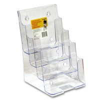 FU A5 four-stage acrylic acrylic catalog holder attachment plate, flyers, rack, Tokyu holder, memokkot this, document holders