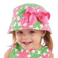 Mudpie Crochet Flower Sun Hat #1502103
