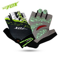 [globalbuy] BATFOX Cycling Gloves GEL Pads Shockproof Breathable Mountain Road Bike Gloves/3809948