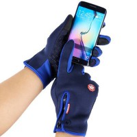 [globalbuy] Waterproof Warm Touch Screen Gloves Winter Sports Windproof Fleece Bicycle Cyc/3809934