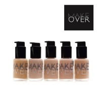 MAKE OVER - ULTRA COVER LIQUID MATT FOUNDATION (Pilihan Warna Lengkap!)