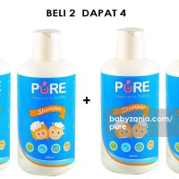 Pure Baby Shampoo Fruity 230ml - PROMO BUY 2 GET 2 FREE