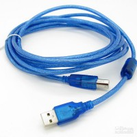 KABEL USB PRINTER 5M / 5 METER / 5 M GOOD QUALITY
