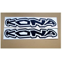 [globalbuy] 2 Kona Enduro MTB Bike Cycles Frame Stickers Decal Logo/3300149