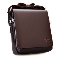 Tas Pria High Quality Guarantee Mes Leather Handbag Messenger Bag - Best Seller - SIZE L