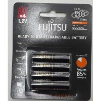 Baterai / Battery Fujitsu 4 Pcs AAA 900mAh (Made In Japan)