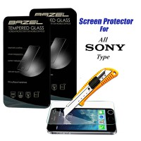 Bazel Tempered Glass for All Sony SmartPhone Type Screen Protector