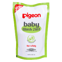 [PROMO] Pigeon Baby Wash 2 in 1 600ml