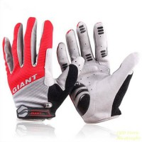 [globalbuy] Outdoor Brand New GEL Full Finger Gloves Slip Mtb bike bicycle guantes ciclism/1310816